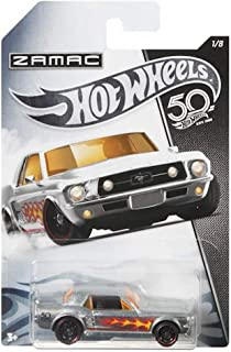 HOT WHEELS ZAMAC '67 FORD MUSTANG COUPE 1/8 50TH ANNIVERSARY