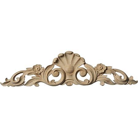 Ekena Millwork Onl12x03x01fral Onlay 12 1 4 W X 3 1 4 H X 5 8 D Alder Decorative Ceiling Medallions
