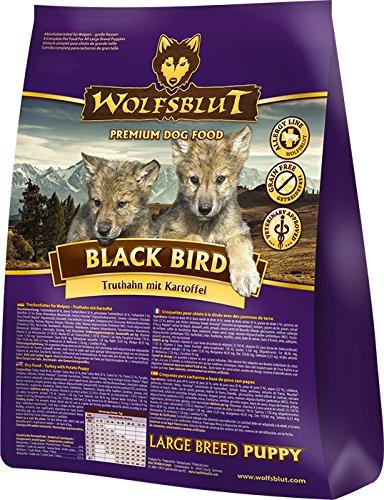 Wolfsblut Black Bird Puppy Large, 1er Pack (1 x 2 kg)