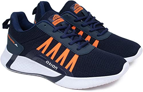 Men S Bouncer 01 Sports Latest Casual Sneakers Lace Up Lightweight Shoes For Running Walking Gym