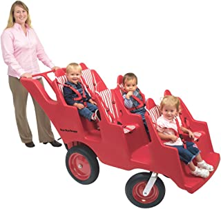 6-Seater Spoke Less Steel Never Flat Buggy