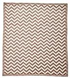 Arus, Babydecke/Erstlingsdecke/Kuscheldecke/Krabbeldecke/Spieldecke, Gray Zigzag, Baumwollmischgewebe, 75x100 cm, 450 gr/cm²