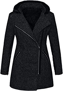 588b0aba0bfb2 Womens Hooded Zipper Coat Plus Size Winter Clearance