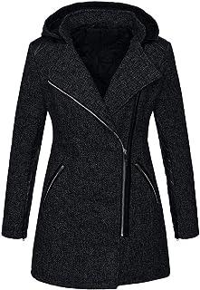 ddaf12edec6 Womens Hooded Zipper Coat Plus Size Winter Clearance