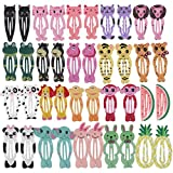 "Best Barrettes For Toddlers - inSowni 40 Pack 2"" Metal Snap Hair Clips Review"