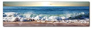 Holiday-Online-Store Wall Art Painting Art Home Decor Landscape Canvas Painting Picture sea Wave Wall Picture Art Print Canvas and Posters Picture,35cmx120cm,GH5533