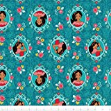 Fat Quarter Disney Princess Elena of Avalor Rahmen 100 %
