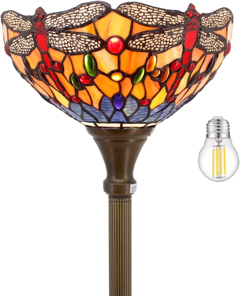 Tiffany Floor Lamp LED Torchiere 66
