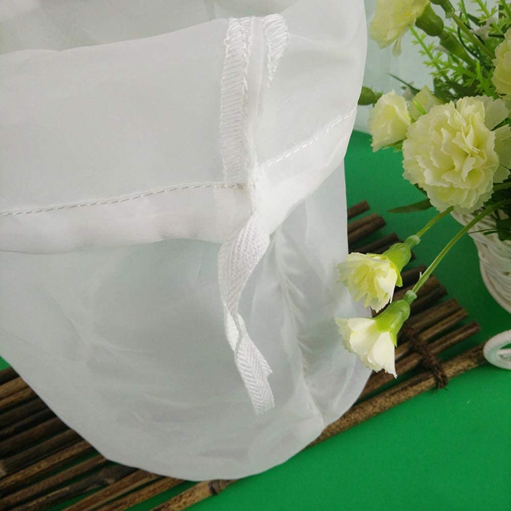 Skisneostype Sac /à /égoutter pour brasser le malt houblon caf/é jus brassage maison tout usage le pur/ée d/ébullition Filtre de qualit/é alimentaire pour lait damande 30 x 28