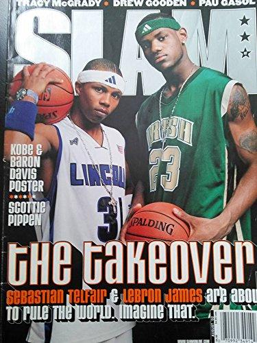 Slam Magazine August 2002 (Lebron James, Sebastian Telfair Cover)