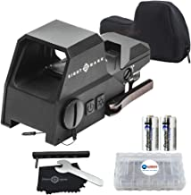 Sightmark Ultra Shot Reflex Sight Red and Green Reticle Bundle with 2 Extra Energizer..