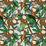 3 Wishes Schmusetuch – Faultier Dschungel – 3WISH16 –