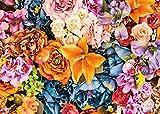 DANIU Fleur mur toile de fond vintage floral anniversaire fête décoration fond pour femme mariée showerstudio photo booth props