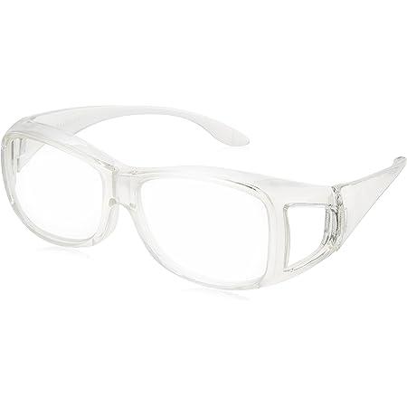アイメディア 拡大鏡 ルーペ 拡大鏡メガネ 1.6倍 メガネ型拡大鏡 ルーペメガネ メガネルーペ メガネ型ルーペ クリア 男女兼用