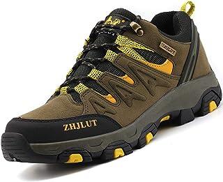 comprar comparacion Zapatillas de Trekking para Hombres Zapatillas de Senderismo Botas de Montaña Antideslizantes Calzado de Trekking Botas de...