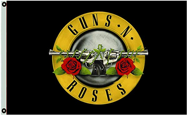 Annfly Guns N Roses Flag 3X5FT Banner