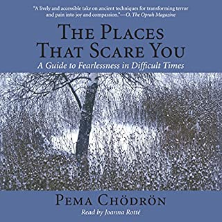 The Places That Scare You     A Guide to Fearlessness in Difficult Times              By:                                                                                                                                 Pema Chödrön                               Narrated by:                                                                                                                                 Joanna Rotte                      Length: 4 hrs and 27 mins     14 ratings     Overall 4.6