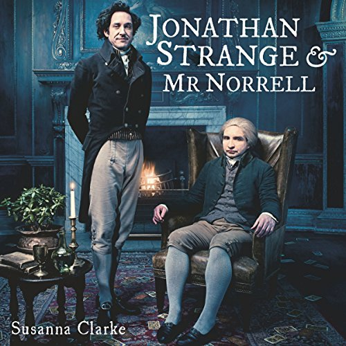 Jonathan Strange & Mr. Norrell audiobook cover art