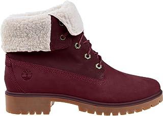 Timberland Jayne Waterproof Teddy Fleece Fold Down womens Fashion Boot