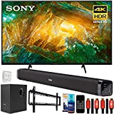 Sony XBR75X800H 75' X800H 4K UHD LED TV (2020) with Deco Gear Home Theater Bundle