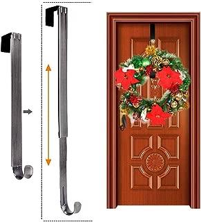 Sahgsa Guirnalda De Gancho De Puerta Guirnalda De Puerta Ajustable Navidad para Ropa De Apartamento Gancho Puerta Y Gancho De Armario