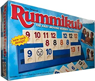 The Original Rummikub; [The Fast Moving Rummy Tile Game] 1997.