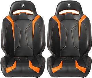 Pro Armor P141S188OR LE Orange Suspension Seat 2011-2019 Polaris RZR XP 1000 Turbo 4 S, 2 Pack