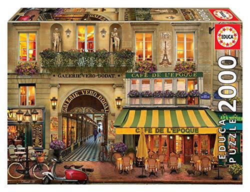 Educa Borras - Genuine Puzzles, Puzzle 2.000 piezas, Galerie Paris (18506)