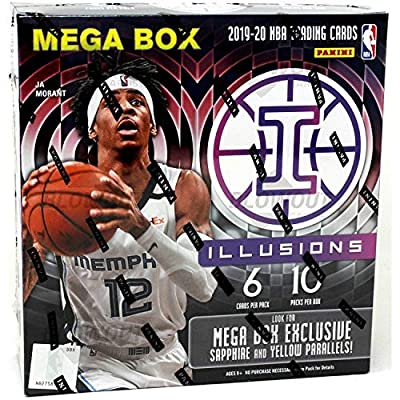 2020 Panini Illusions NBA Basketball MEGA box - 60 Total Cards