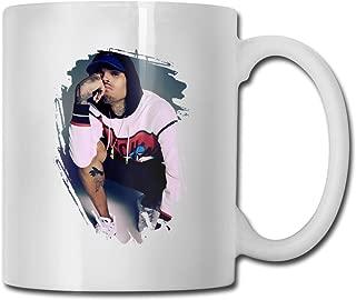 CSACEO Chris Brown Tea Mugs Coffee Mug Milk Mugs Ceramic Cup Tea Cup Water Mug White