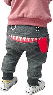 Pantalones Bebé Niños Niñas Chicas Dibujos Animados Tiburón Lengua Harem Pantalones