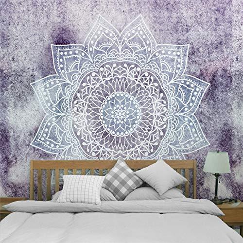 NGHSDO Tapiz Pared Tapices colgados de la Pared de la decoración Manta Estilo de Yoga Dormir tapicería de la Pared Tela Tapices De Pared (Color : CH 3, Size : 100X75CM)