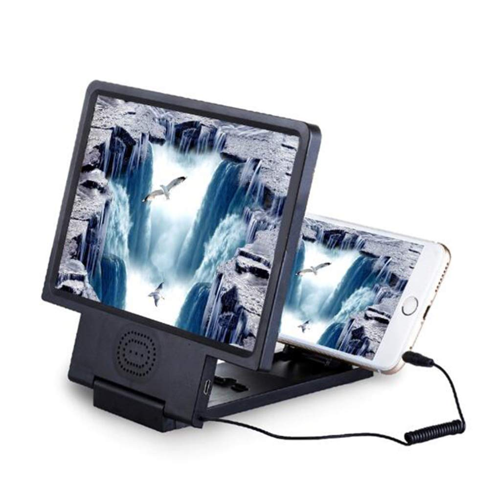 LQ&XL 3D Mobile Pantalla del Telefono Lupa - 8.5