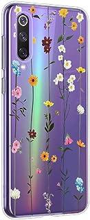Oihxse Mandala Flores Encaje Patrón Serie Case Compatible con Samsung Galaxy S10 5G Funda TPU Silicona Suave Protector Ultra Slim Anti-Rasguño Transparente Carcasa (A15)