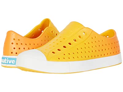 Native Shoes Jefferson Ombre (Beanie Yellow/Shell White/Begonia Ombre) Athletic Shoes