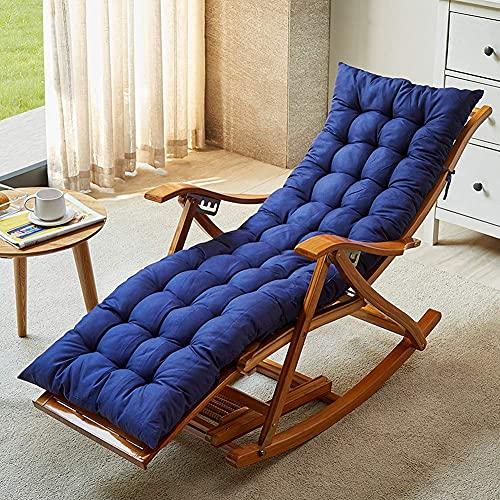ADSE Silla Zero Gravity, sillas de salón, mecedora plegable de madera, balcón, silla de bambú ajustable con reposacabezas y masaje de pies, silla Siesta
