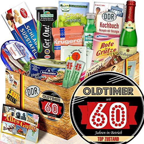 Oldtimer 60 - Geschenke 60 Geburtstag für Mama - Spezialitäten Ostpaket
