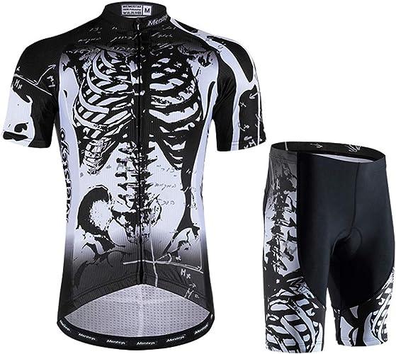 LYzpf Maillot Cyclisme Serré Sport Montagne Costume Cuissard Velo Confortable VeteHommest été pour Plein Air Hommes Et Femmes