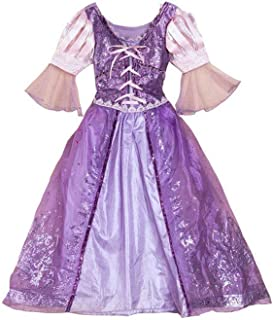 Wraith of East Luxury Kids Princess Dress Birthday Ball Gowns Girls Tulle Lace Pageant Wedding Fluffy Dress 2-14 Years