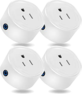 Martin Jerry mini Smart Plug Compatible with Alexa and Google Home, Smart Home Devices,