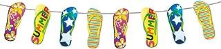 Folat 20715 Garland med flip-flops-10 m, flerfärgade