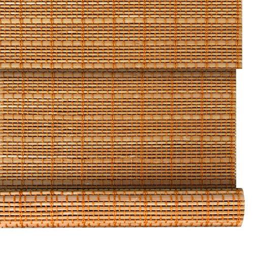 Retro-Bambusrollos, römischer Vorhang, Sichtschutzvorhänge, Außen- / Gartentrennwände, anpassbarer Blinds, 23 Größen
