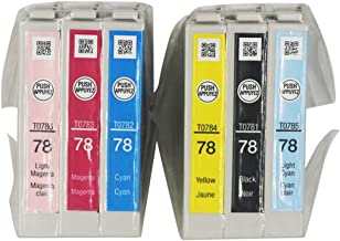 Gen E78 Ink Cartridge for A50 Printer 6 Packs