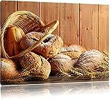 Brot Brötchen Frühstück Bäcker Format: 60x40 cm auf