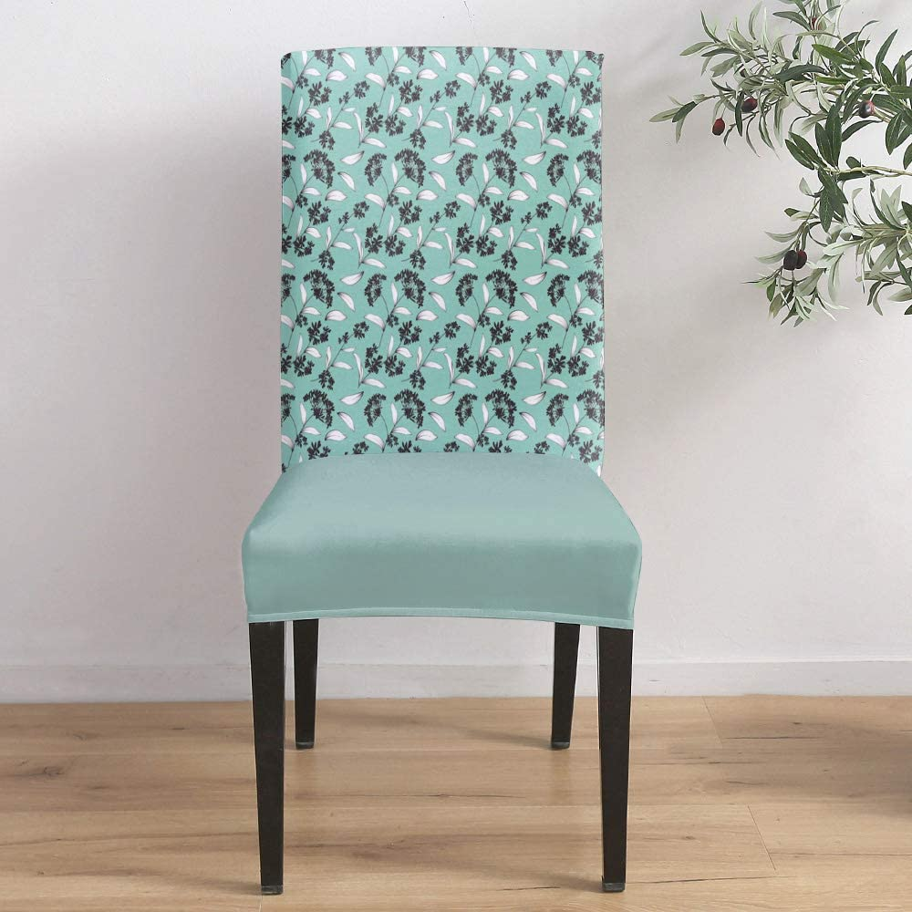 Dining Room Stretch Chair Cover Ranking TOP20 Hand-painted Slipcover P Elegant OFFicial site