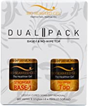 DUAL PACK: NO-SANDING BASE AND NO-WIPE TOP COAT