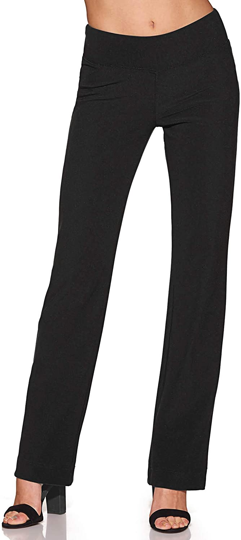 Beyond Travel Women's WrinkleResistant StraightLeg Knit Solid color Pant