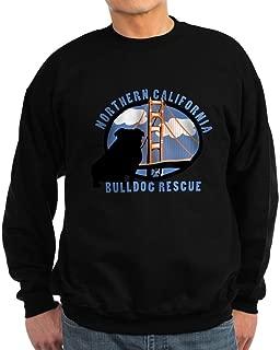 CafePress - Norcal Bulldog Rescue Sweatshirt (Dark) - Classic Crew Neck Sweatshirt
