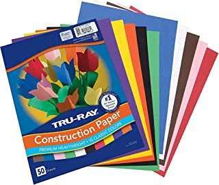 Tru-Ray Construction Paper, 10 Classic Colors, 9