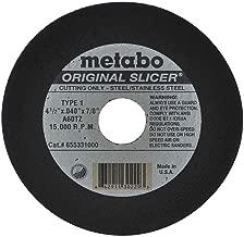 Best metabo slicer cut off wheel Reviews